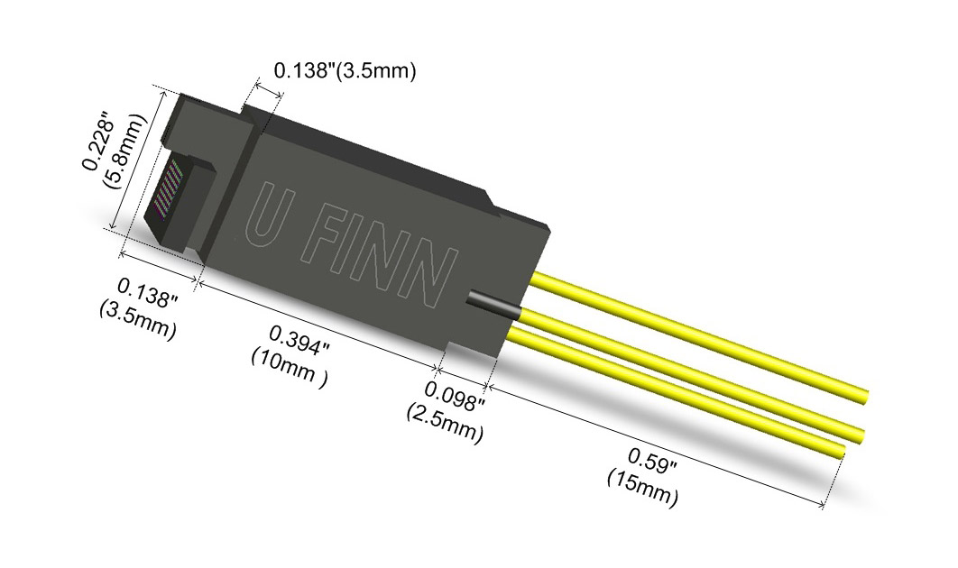 ultra finn finn test electronics product dimensions